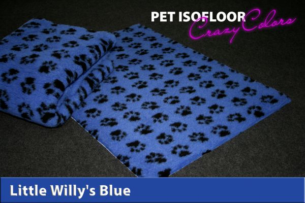PET ISOFLOOR SX Little Willy's Blue