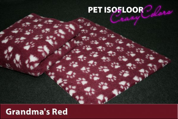 PET ISOFLOOR SX Grandma's Red